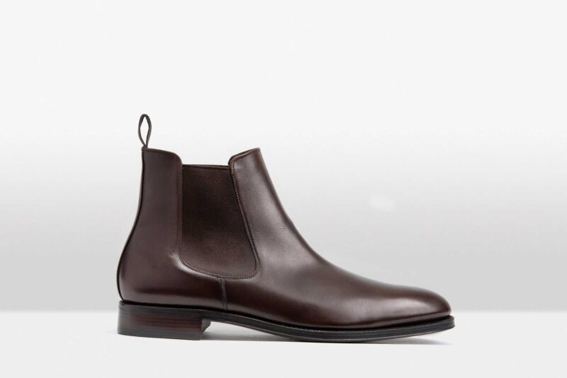 Mendoza Chocolate Brown Calf leather
