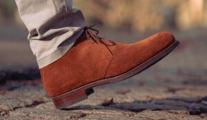 Chukka Boot in Medium Brown Suede