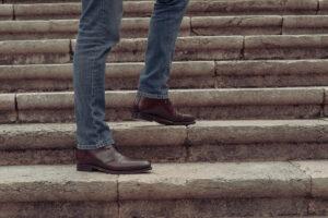 Palermo, cordovan chukka boots