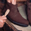 Casa Fagliano. How to care for your suede boots