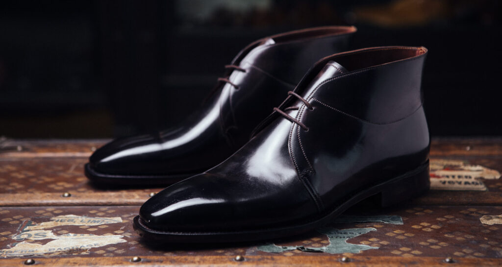 Cordovan Ankle Boots