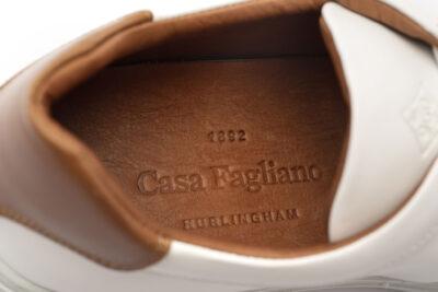 The Buenos Aires White & Cognac Calf